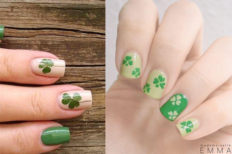 Un nail art pour la Saint Patrick