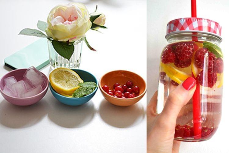 Detox Water : une recette pour un joli teint