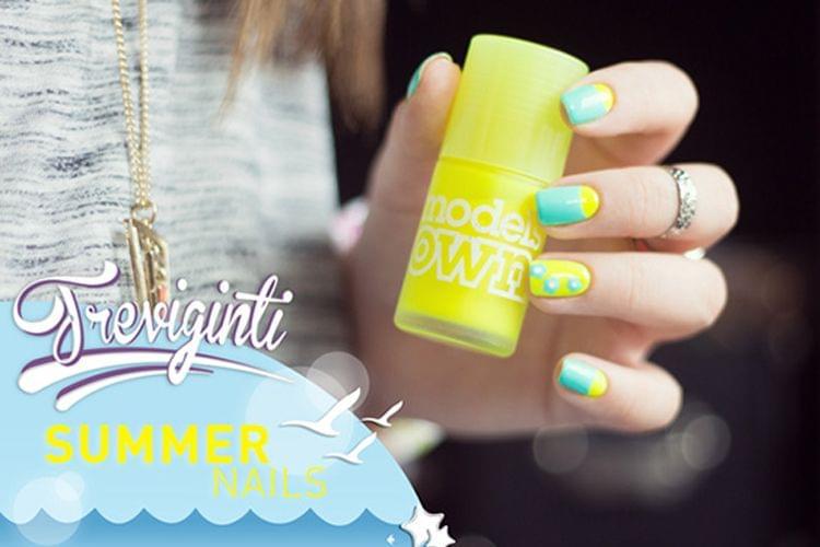 Tuto nail art estival : Jennifer @Treviginti pour Trustbeauty !