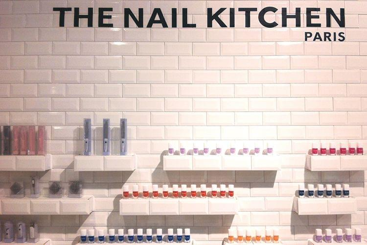 Une manucure green au BHV : The Nail Kitchen