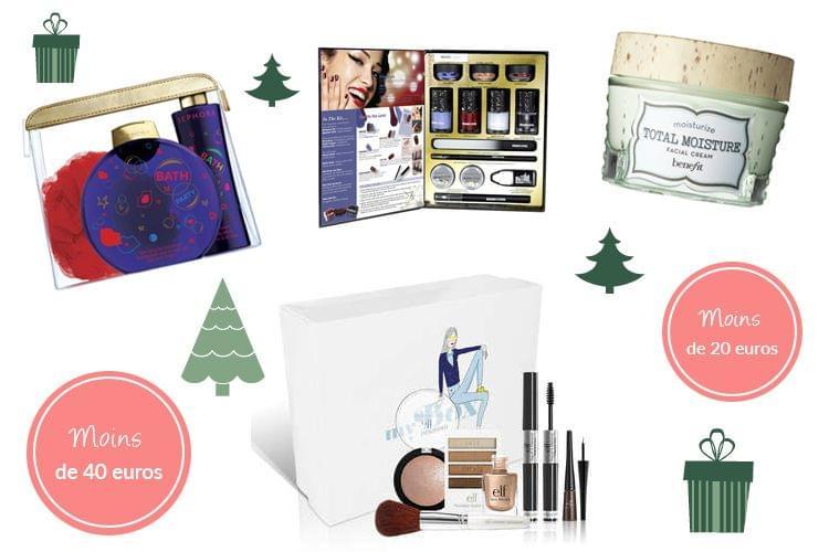 10 idées cadeaux beauté à moins de 40€