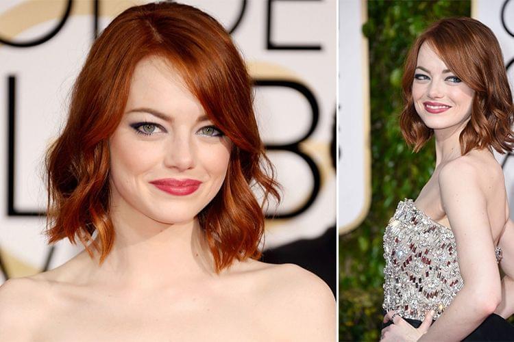 Comment reproduire le look d'Emma Stone aux Golden Globes ?