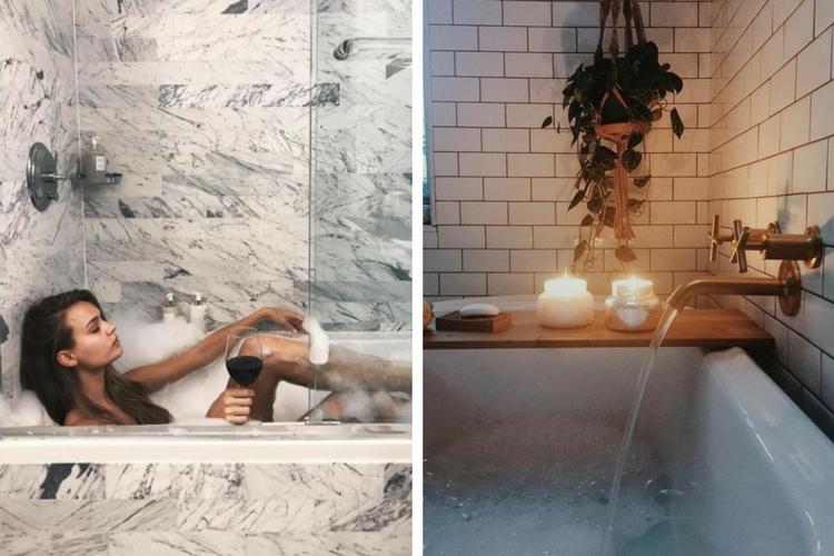 Les 10 avantages d'un bain chaud
