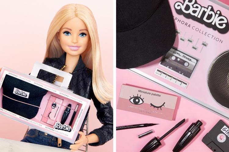 La collab' Barbie x Sephora : Voyez la vie en rose !