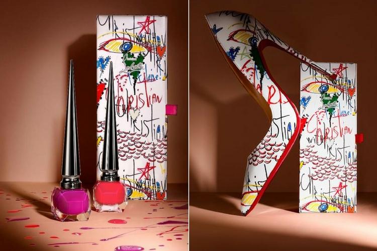 9c2737bec696 Loubitag   la nouvelle collection de vernis arty par Christian Louboutin