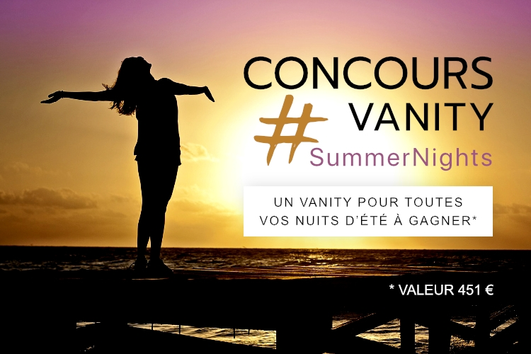 Concours : Votre Vanity Summer Nights à gagner