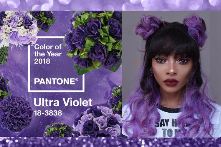 Ultra-violet : la couleur Pantone de l'année 2018 !