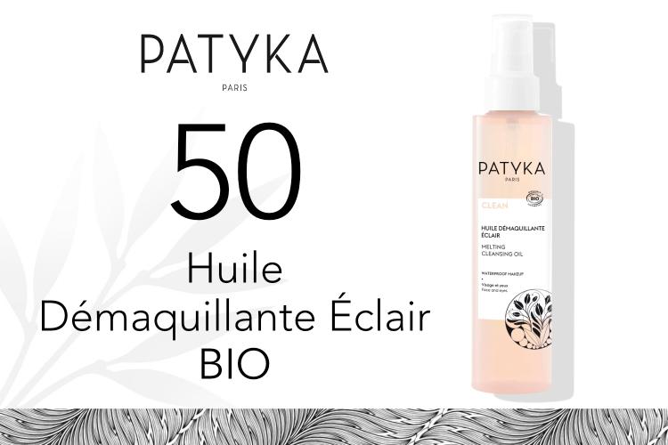 50 Huile Démaquillante Éclair de Patyka à tester