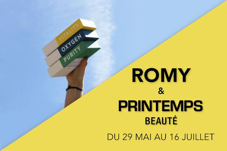 Romy ouvre son Pop-Up Store au Printemps de la Beauté