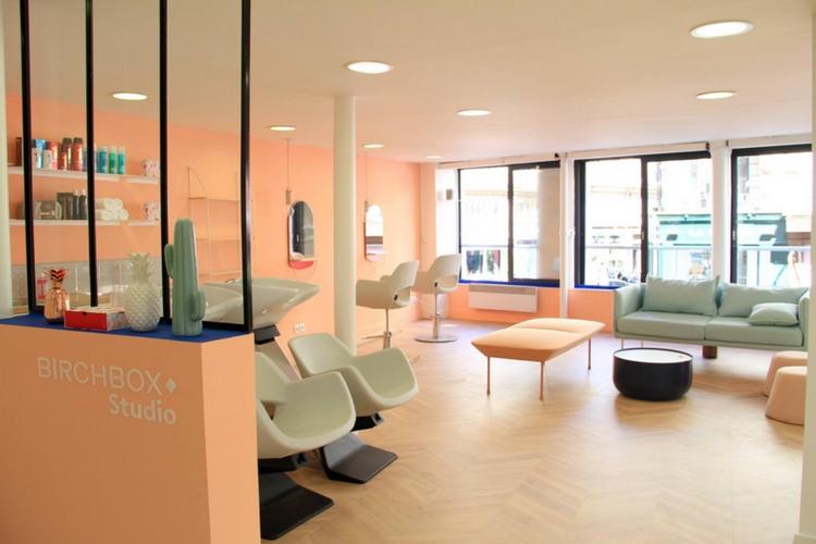Birchbox ouvre son 1er salon de coiffure en France
