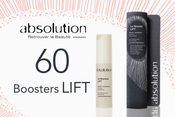 60 Boosters LIFT, nouveau sérum raffermissant de la marque bio Absolution, à tester