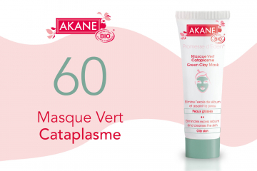 60 Masque Vert Cataplasme d'Akane à tester
