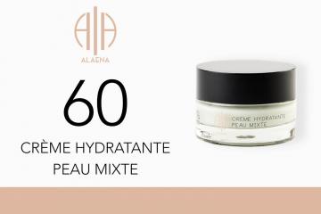 60 Crème Hydratante Peau Mixte bio de ALAENA à tester