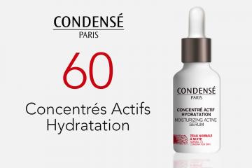 60 Concentrés Actifs Hydratation de Condensé Paris à tester
