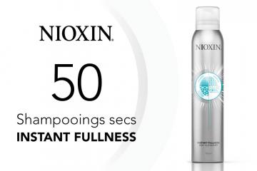 50 shampooings secs Instant Fullness de NIOXIN à tester