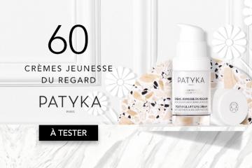 60 Crème Jeunesse Regard de Patyka à tester