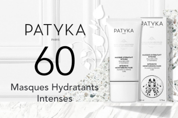 60 Masques Hydratants Intenses de Patyka à tester