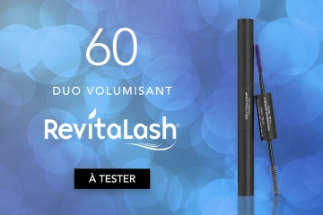 60 Duo Volumisant par RevitaLash à tester