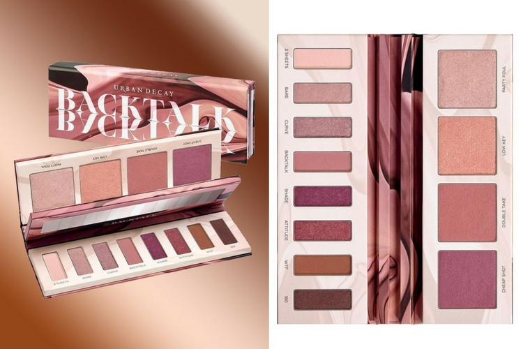Backtalk : la nouvelle palette exclusive d'Urban Decay