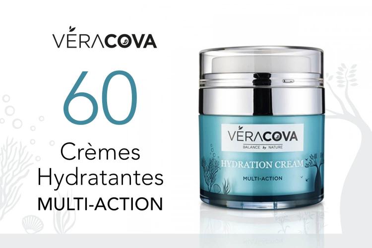 60 Crèmes Hydratantes Multi-Action de VERACOVA à tester