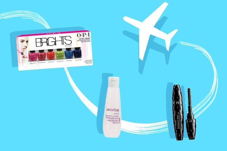 Notre vanity beauté pour voyager en avion