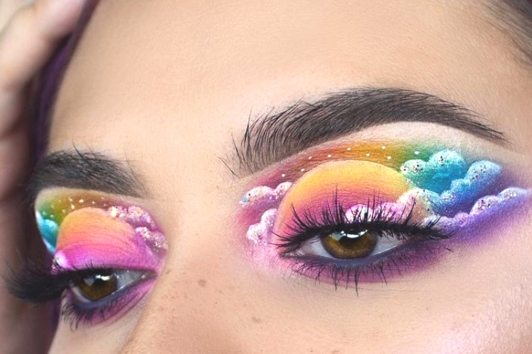 Cloud eye makeup : la tendance Instagram à adopter ?