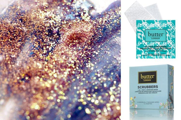 Les lingettes dissolvantes anti-paillettes de Butter London