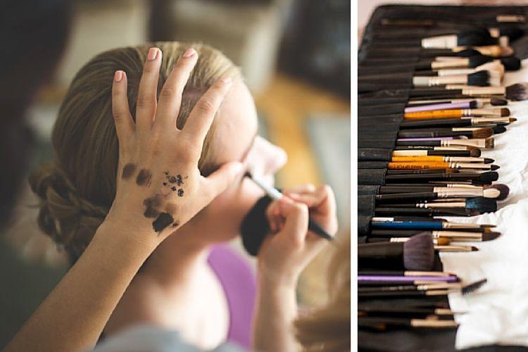 Choisir un kit de pinceaux de maquillage