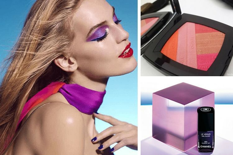 Le maquillage L.A Sunrise de Chanel pour le printemps 2016
