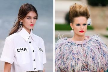 Les plus jolies coiffures des défilés Chanel