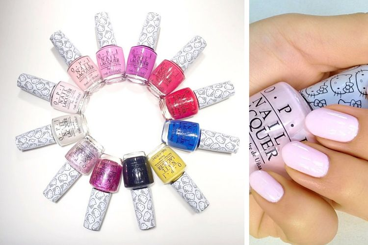 Nouveauté : L'adorable collection de vernis Hello Kitty x OPI