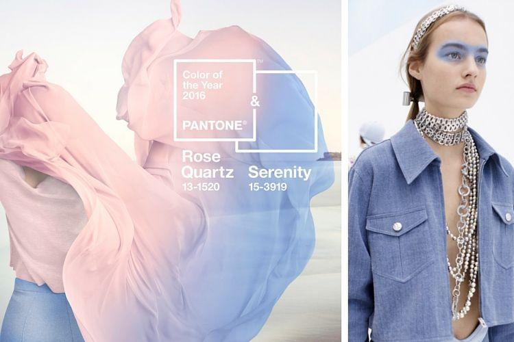 Beauté : Rose Quartz et Bleu Serenity, les couleur Pantone 2016