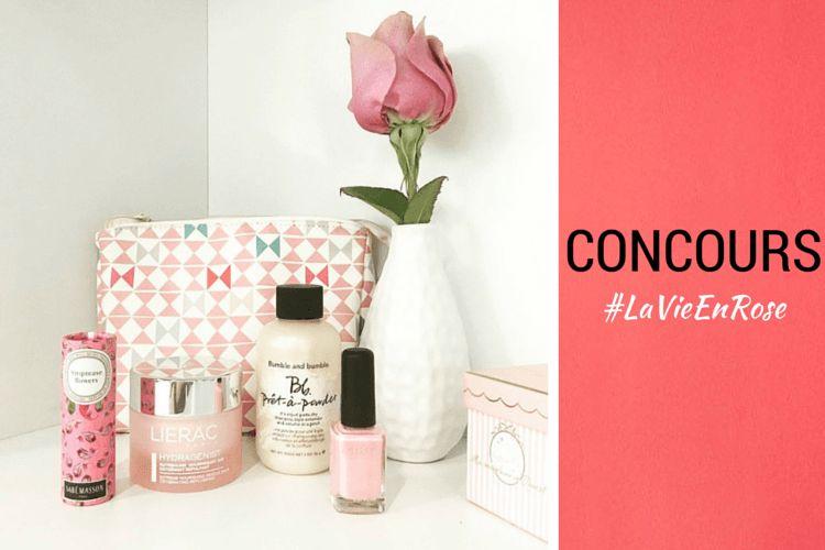 Gagnez un vanity pour voir la vie en rose