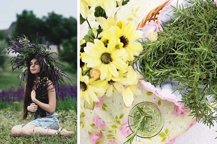 8 eaux florales adaptées aux différents types de peau