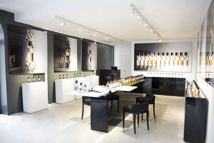 Dior : une boutique éphémère pour des parfums d'exception