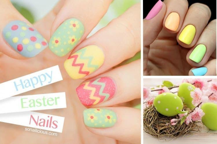 14 idées de nail art pour Pâques