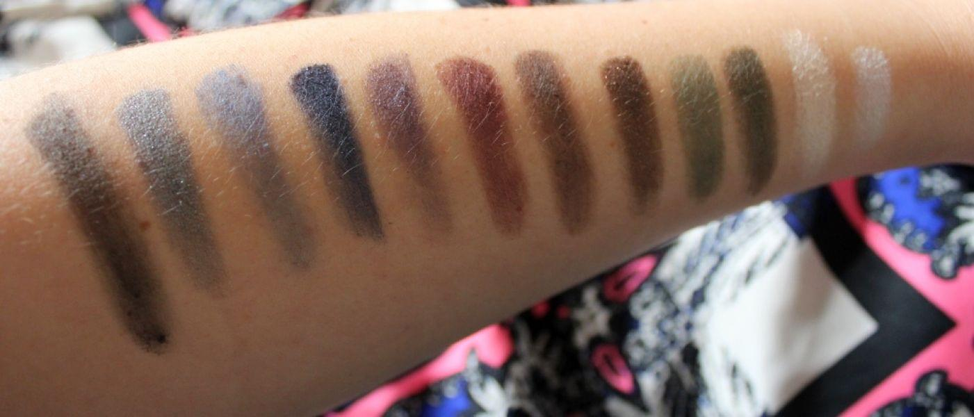 Swatch Palette Dark Colors, Adopt by Réserve Naturelle