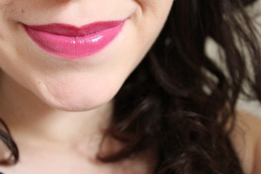 Swatch Rouge à lèvres Glazed Lip Paint, L.A. Girl