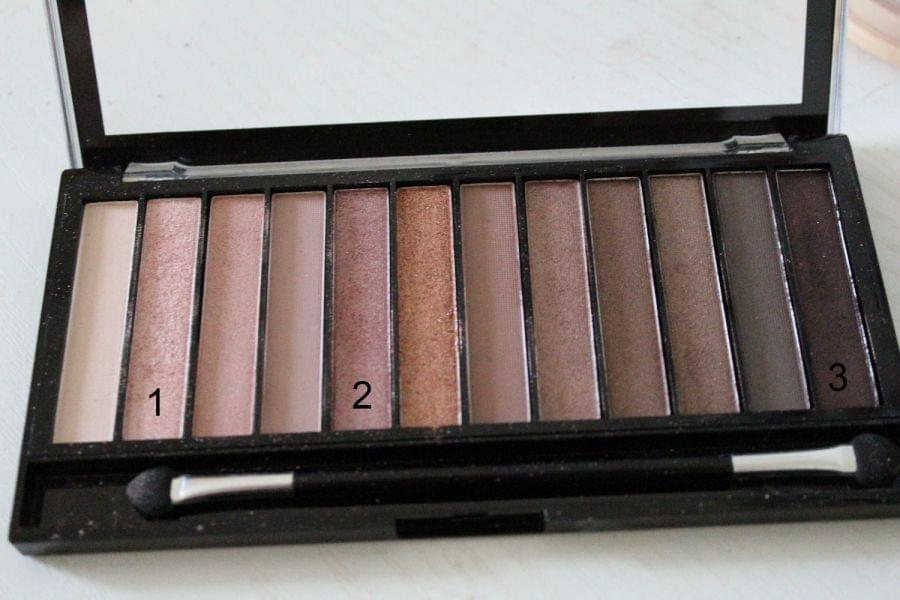 Swatch Palette Iconic 3, Makeup Revolution