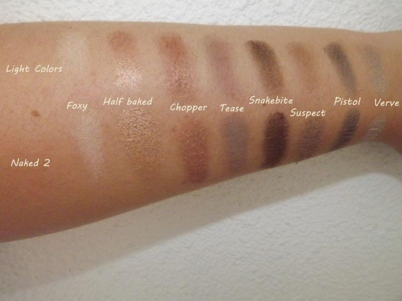 Swatch Palette de Maquillage Light Colors, Adopt by Réserve Naturelle