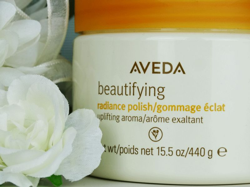 Swatch Gommage éclat Beautifying, Aveda