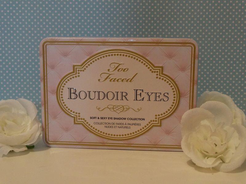 avis boudoir eyes too faced maquillage. Black Bedroom Furniture Sets. Home Design Ideas