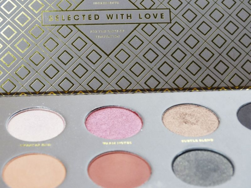 Swatch Palette Cocoa Blend, Zoeva