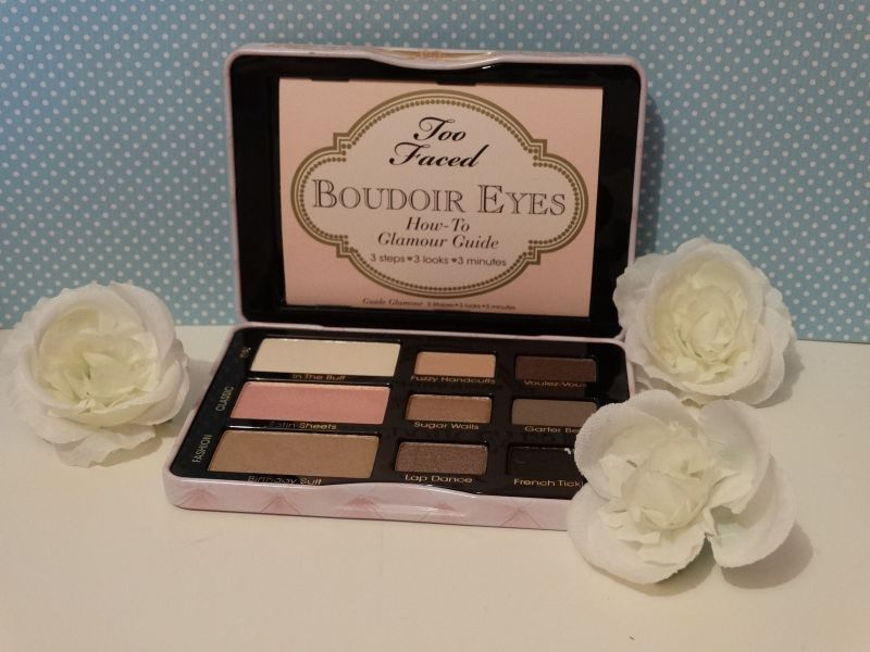 Swatch Boudoir Eyes Soft & Sexy Eye Shadow Collection, Too Faced