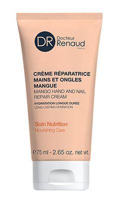 Swatch Crème réparatrice mains et ongles mangue, Dr renaud
