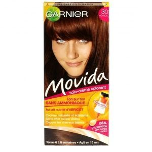 Movida - Coloration Temporaire Sans Amoniaque Acajou, Garnier : myriamr aime !