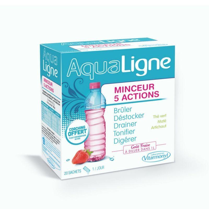 Avis Aqualigne Minceur 5 actions - Laboratoires Vitarmonyl