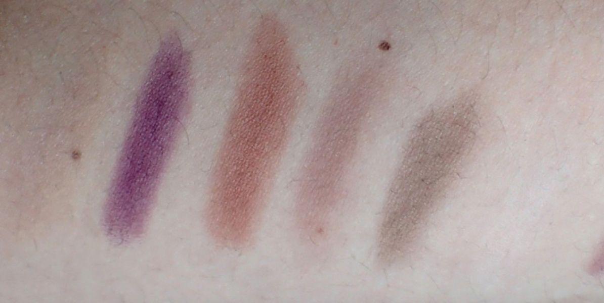 Swatch Palette i-Divine Force of Nature, Sleek MakeUP