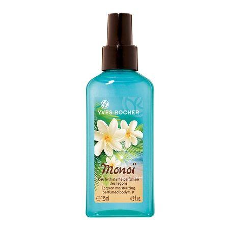Eau Hydratante Parfumée des Lagons Monoï, Yves Rocher - Infos et avis