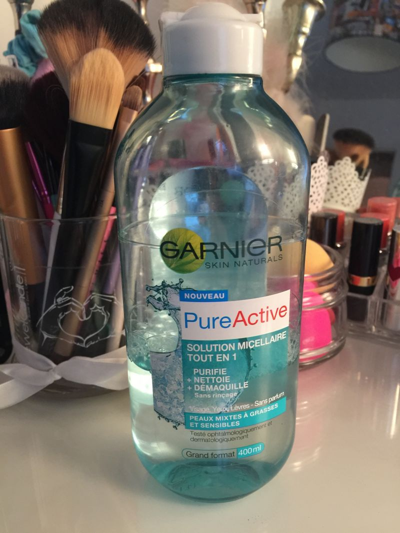 Swatch Solution Micellaire Tout en 1 Pure Active, Garnier